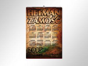 Kalendarz Hetman Zamość