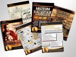 Plakaty Skarby Warszawy