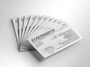 Wizytówki Elektroauto