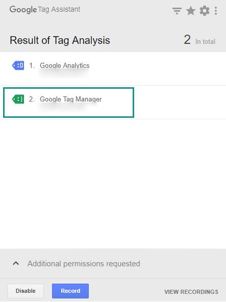 google tag assistant konfiguracja